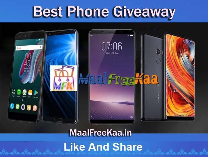 Best Smartphone Giveaway Win Smartphone - Freebie Giveaway