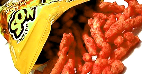 7 Curiosidades sobre Cheetos - Quantos salgadinhos no pacote de Cheetos?