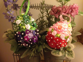 Easter button eggs