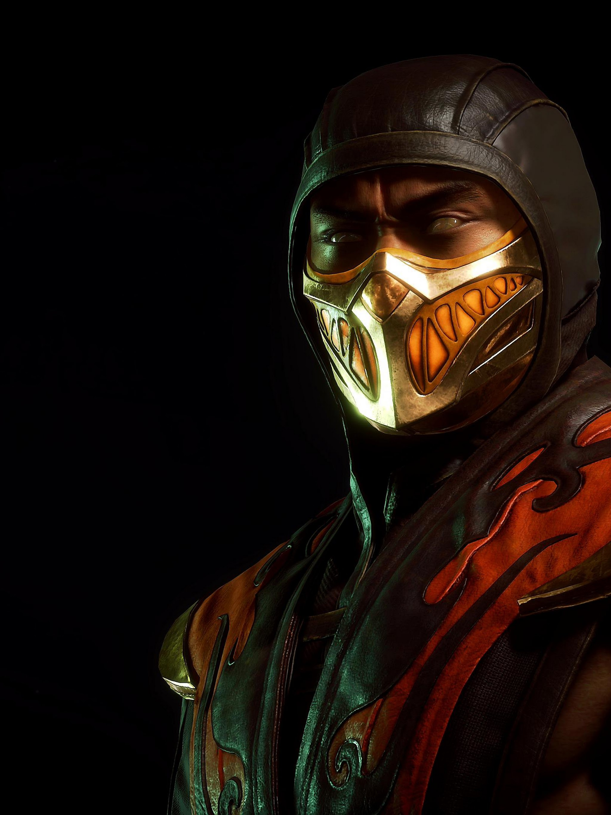 Scorpion Mortal Kombat 11 4k Wallpaper 337