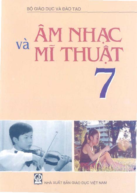 Sách Giáo Khoa Âm nhạc và Mĩ thuật 7
