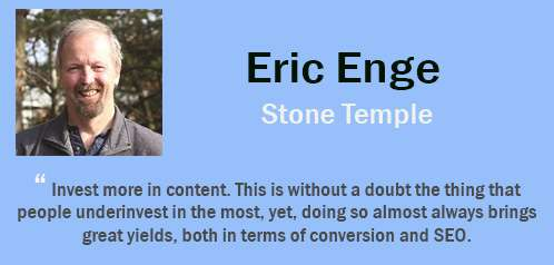 eric enge - tips SEO
