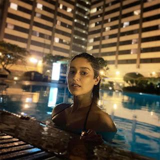 Ileana D'Cruz In Swimming Pool, Ileana Latest Photos