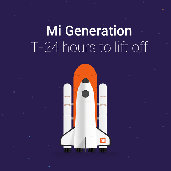 Xiaomi India teases Mi Generation, a new device is arriving?
