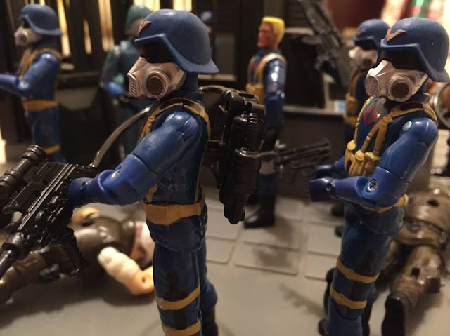 2006 Gas Mask Trooper, Air Trooper, Comic Pack, Skeres, Alternate Asian, Cobra Officer, Midnight Chinese