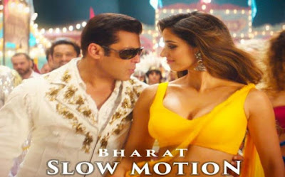 salman khan and disha patani slow motion