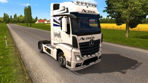 ACTROS skin for Mercedes MP4