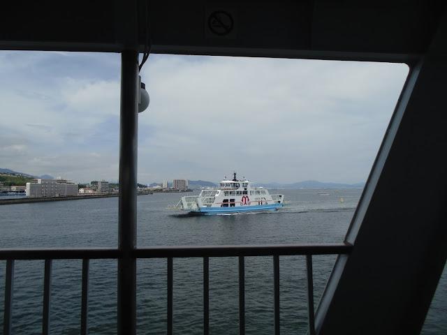 Ferry da empresa Matsudai ligando Hiroshima e Miyajima