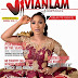 PHOTOS: ACTRESS TONTO DIKEH ADORNS BEAUTY ISSUE OF VIVIAN LAM GLAMOUR MAGAZINE