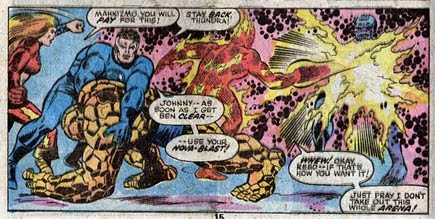 Fantastic Four 153-WorldsInCollision-Thundra