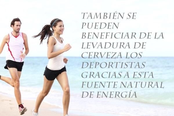 Suplementos para energía deportiva