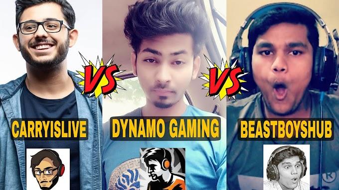 Top 10 Indian Gaming youtubers in 2019 Like Dynamo Gaming