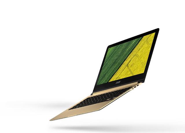 Laptop tertipis di dunia, laptop tipis, Acer Swift 7