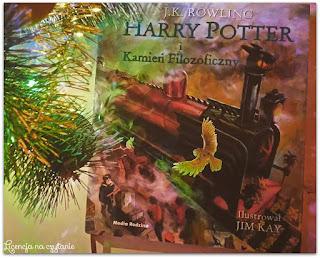 """160. """"Harry Potter i Kamień Filozoficzny"""" wersja ilustrowana, J. K. Rowling"""