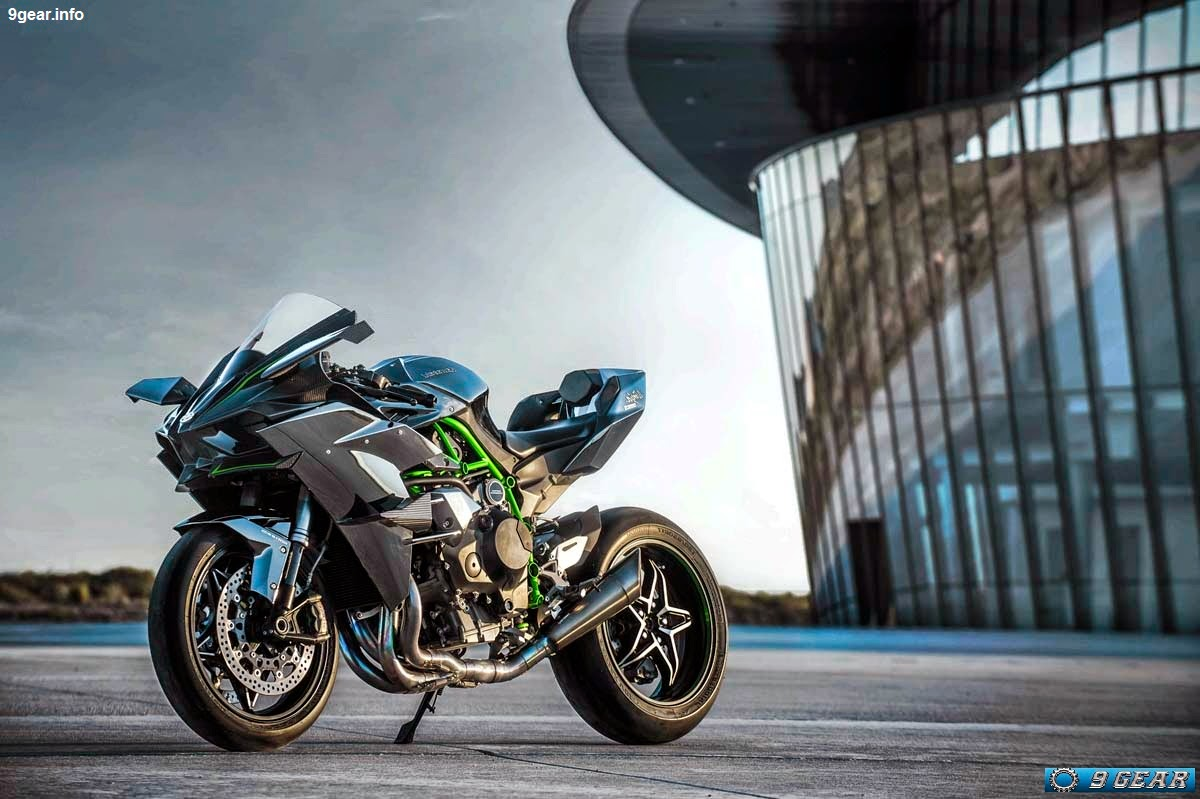 The Unprecedented Power Output Of Supercharged Ninja H2R Is Made Possible Only Through A System Finely Tuned And Carefully Crafted High Quality