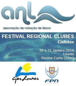 CA Notícias Natação: Festival Regional de Clubes de Cadetes