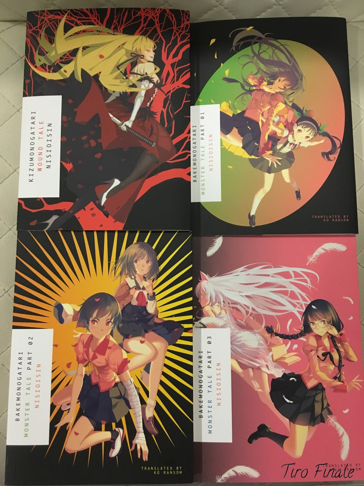 JAPAN NEW Nisio Isin Monogatari series Kizu Monogatari Visual Book Part 2