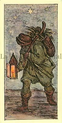 Tarot de Mitelli: La Estrella