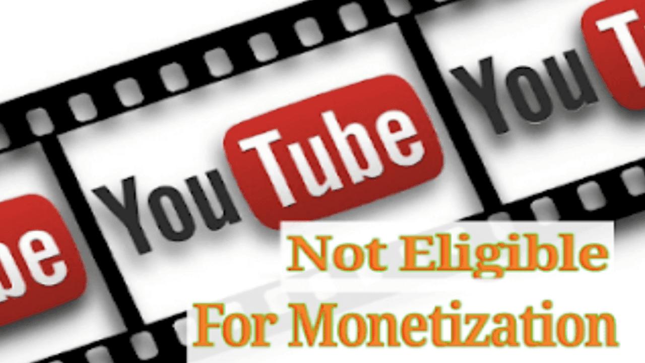 Cara mengatasi Video Youtube tidak bisa di Monetisasi