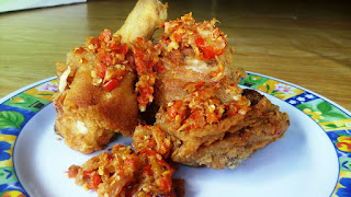 Download Resep Makanan Ayam Goreng Sambal Gratis