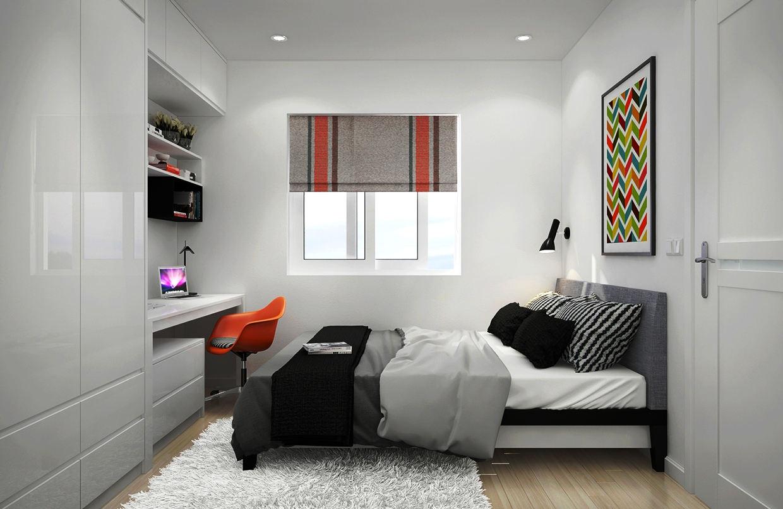 Desain Kamar Tidur Kecil Minimalis Sederhana