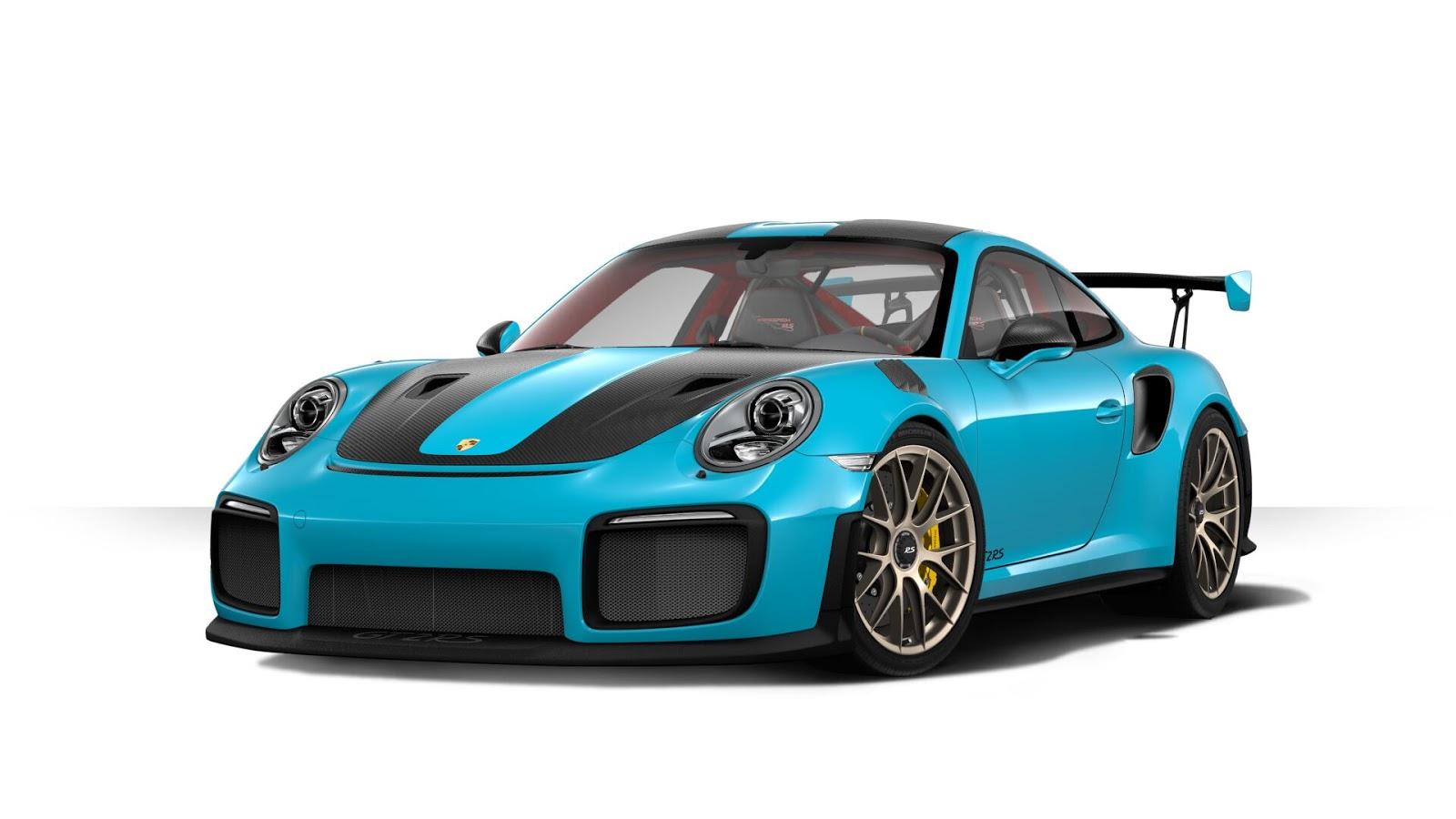 Tuner Car Wallpaper Hd Porsche 911 Gt2 Rs Configurator Lets You Design Your Final