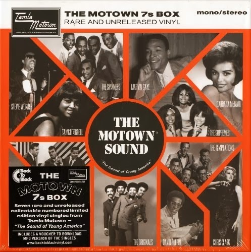 Modernist Society The Motown 7s Box Rare And