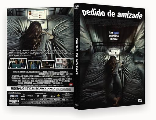 CAPA DVD – Pedido De Amizade 2018 DVD-R AUTORADO