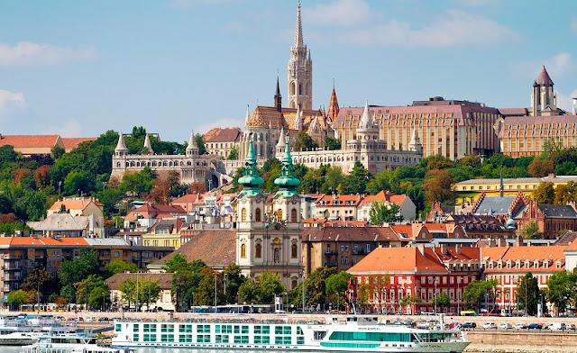 Pontos turísticos em Budapeste, Hungria