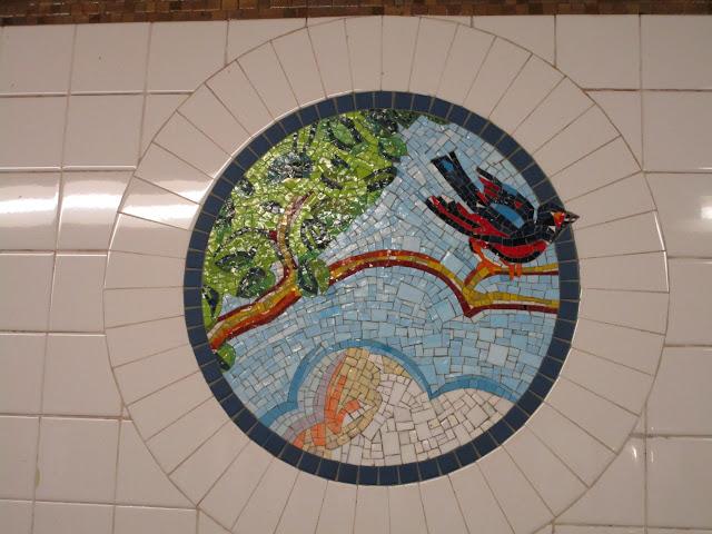 Мозаики метро в Нью-Йорке (NYC Subway Art)