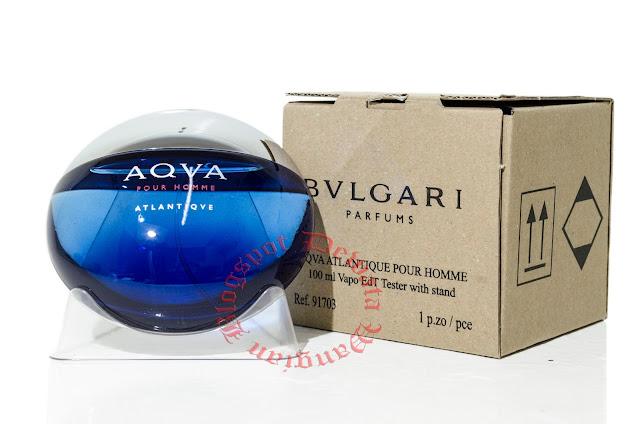 Bvlgari Aqva Pour Homme Atlantiqve Tester Perfume