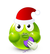Christmas Smiley Icon 12