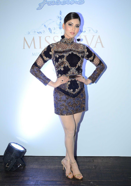 Urvashi Rautela Looks Irresistibly Sexy At Yamaha Fascino Miss Diva 2016 Promo Launch