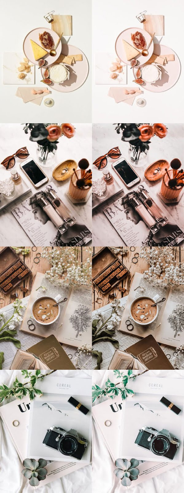 Flat Lay Product Lightroom Presets Free Download