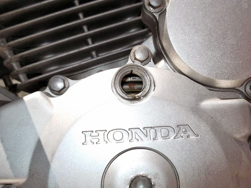 Punto muerto superior motor Honda