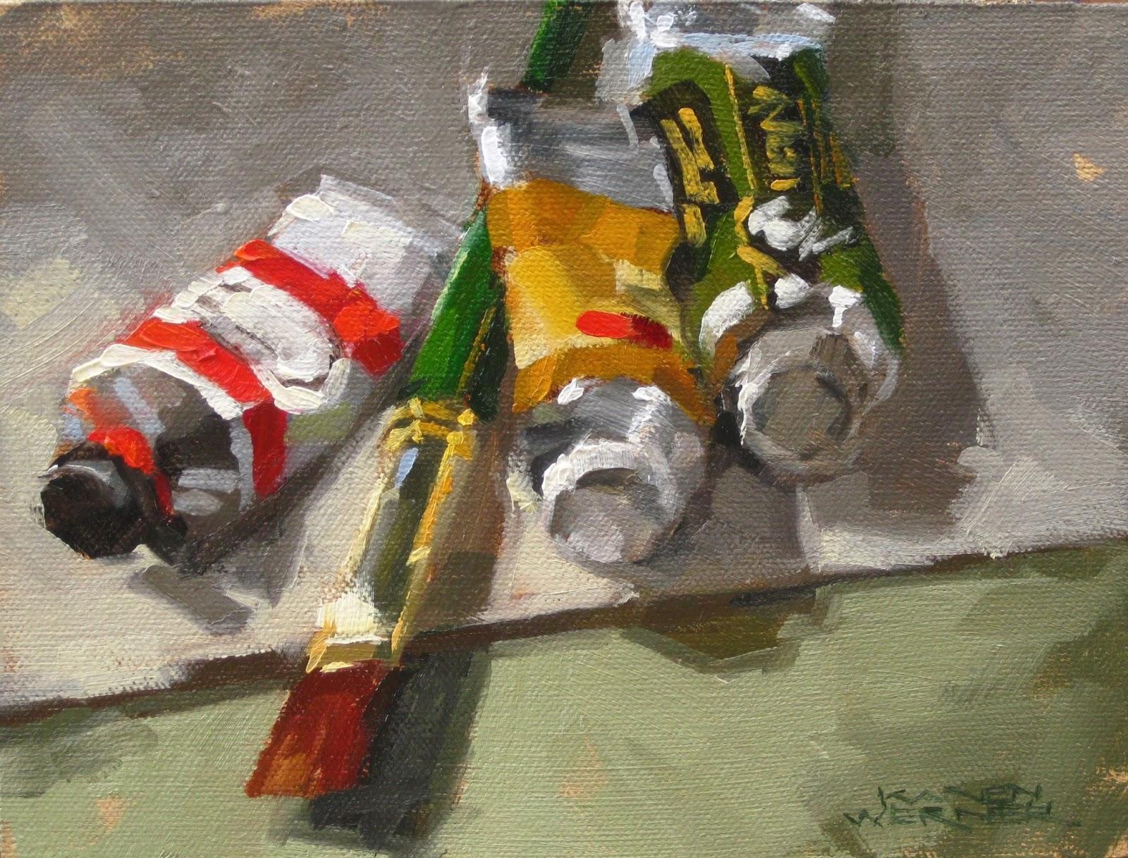 Karen Werner Fine Art Oil Tubes Amp Brushes An Oil