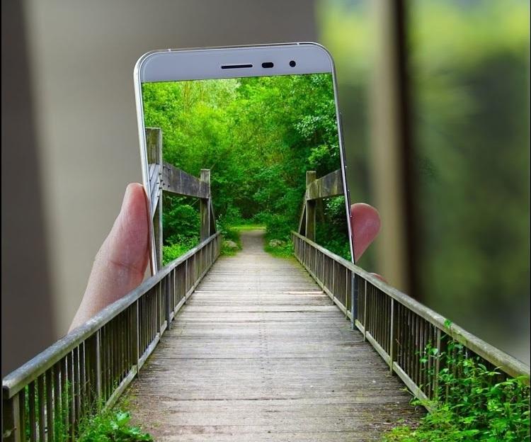Tutorial Edit Foto Keluar Dari Layar Hp Android Android Canggih