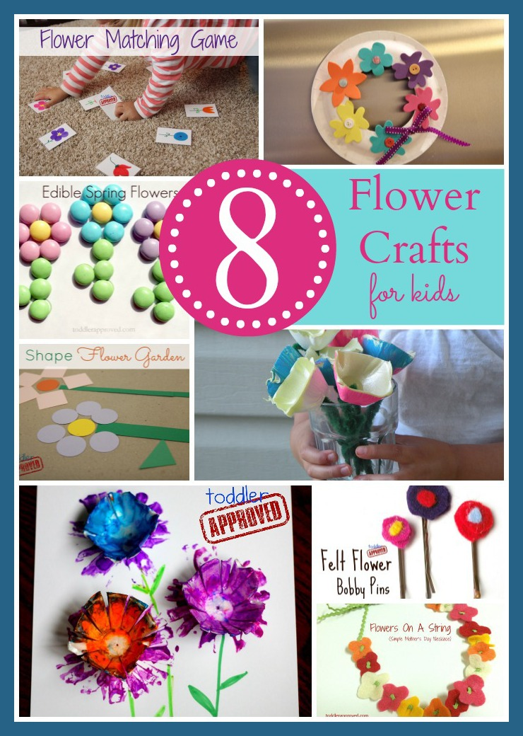 Toddler Approved 8 Spring Flower Crafts Activities For Kids