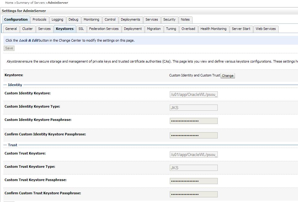 Блог в помощь!: Weblogic 11g Configure SSL for AdminServer
