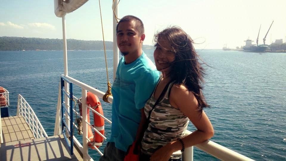 Barge going to Samal Island