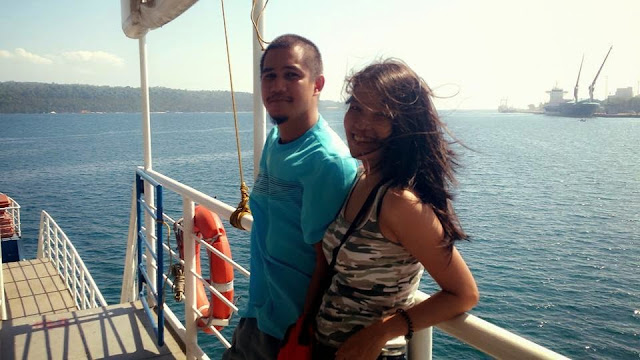 Barge going to Samal Island