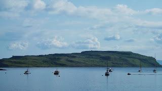 Isle of Cumbrae és a vitorlások