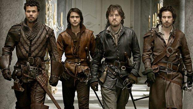 Adventure erotic musketeer three opinion you