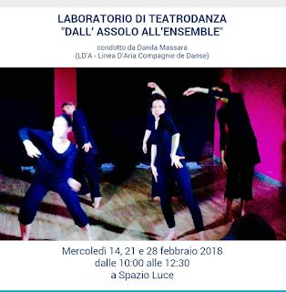 Laboratorio di Teatrodanza a Milano