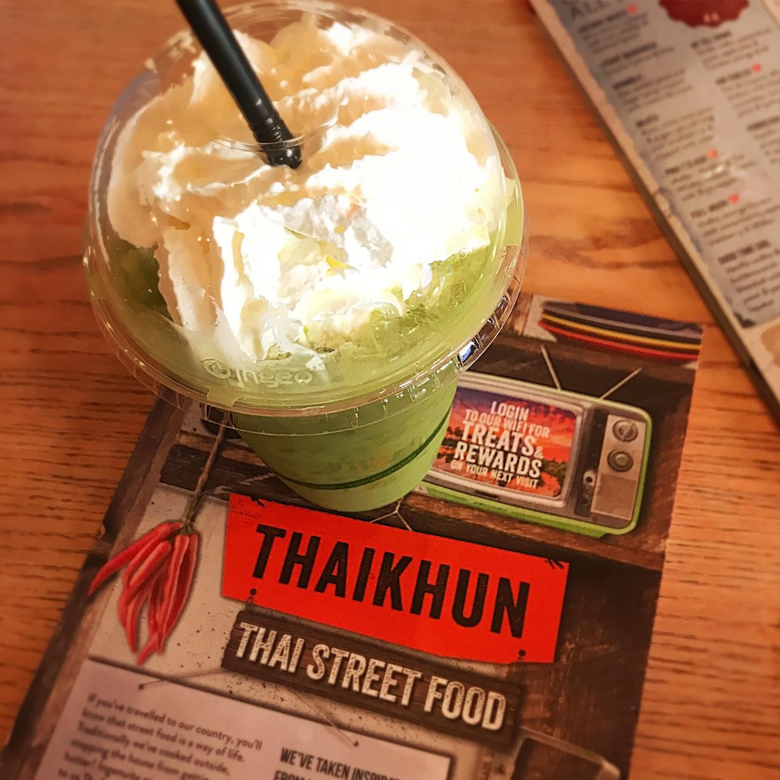 Matcha Green Iced Tea - Thaikhun