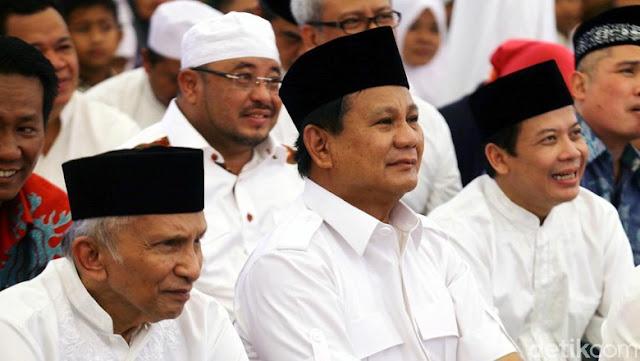PKS Tak Yakin Amien Rais Peralat Prabowo: Dia Bukan Orang Culas
