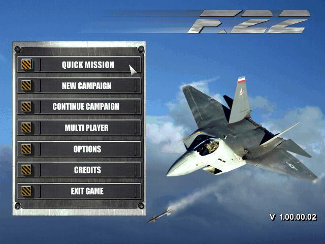 f-22 raptor lighnting free pc game