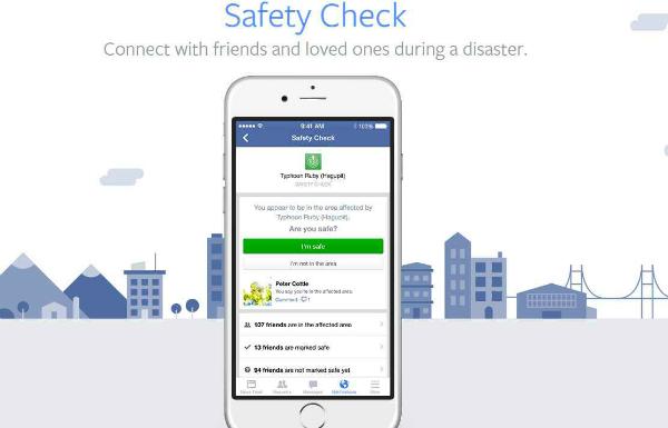 """خبر مزيف يتسبب في تفعيل خدمة فيسبوك """"Safety Check"""""""