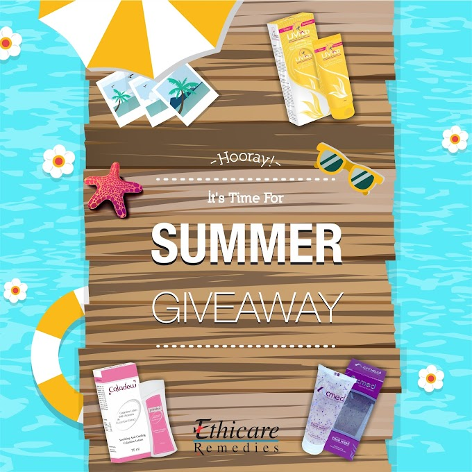 Win Ethicare Remedies Summer Kit - 3 Winners