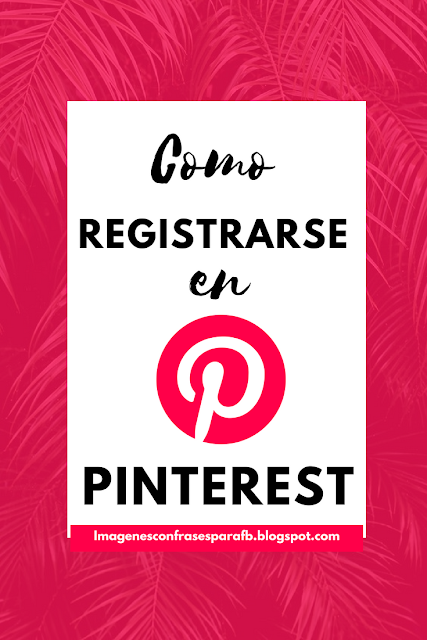 pinterest register